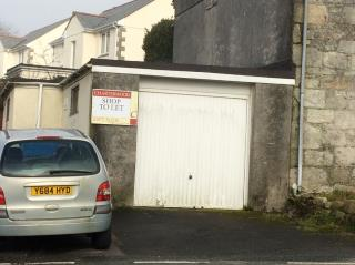 GARAGE PREMISES TO LET/FOR SALE - GARAGE PREMISES, HALLEW ROAD, NANPEAN