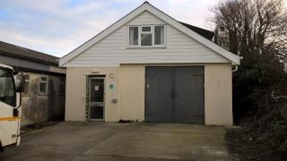 WORKSHOP/STORE AND YARD/PARKING TO LET - UNIT 5B TRECERUS INDUSTRIAL ESTATE, PADSTOW