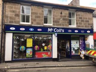 SHOP TO LET - MCCOLLS CONVENIENCE STORE, TREGENNA PLACE, ST IVES TR26 1SB