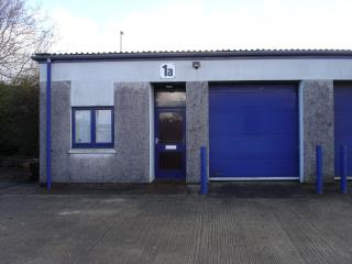 INDUSTRIAL/WAREHOUSE UNIT TO LET - UNIT 1A, WHITEGATES INDUSTRIAL ESTATE, ST DENNIS